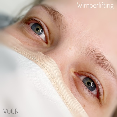 Wimperlifting men kleuren